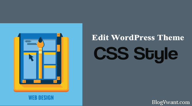 edit wordpress theme css