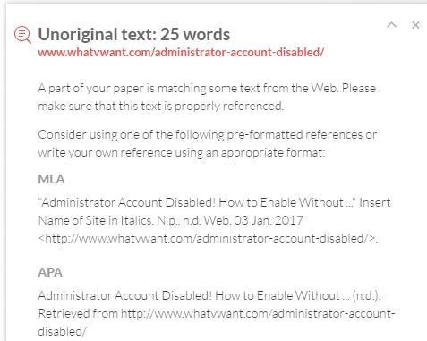 grammarly plagiarism