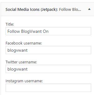 jetpack social follow buttons
