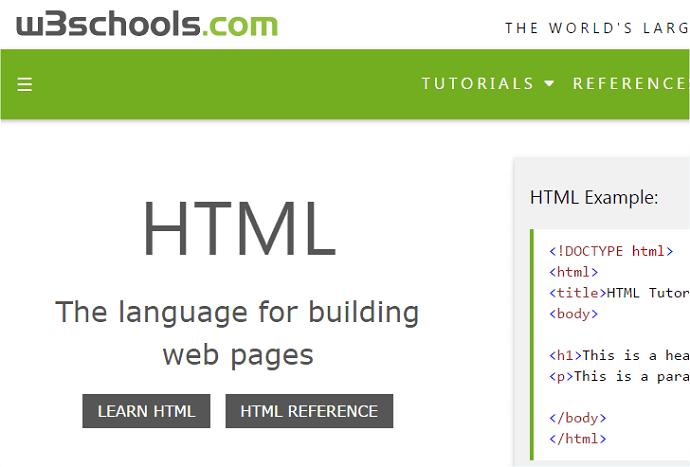 web-development-classes-w3schools