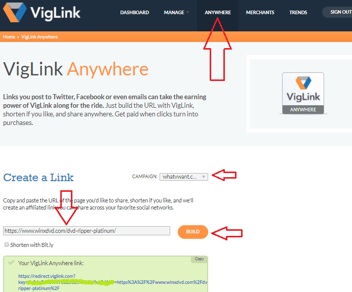 VigLink Anywhere
