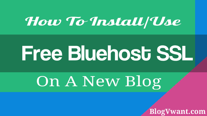 Install SSL on Bluehost