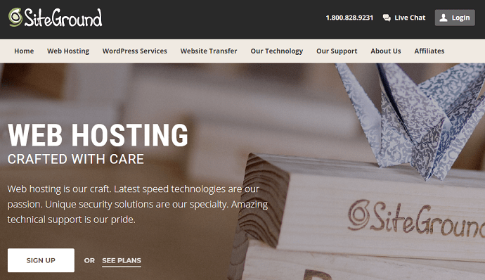 Siteground is another best web hosting service