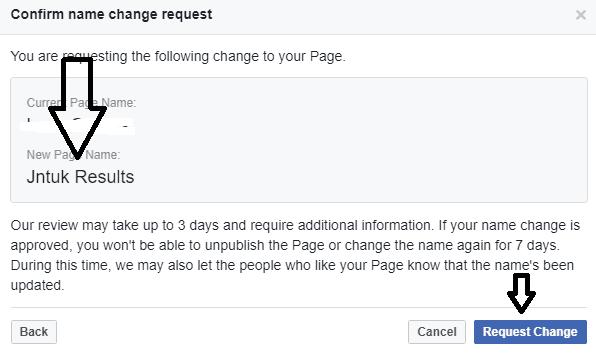 request change