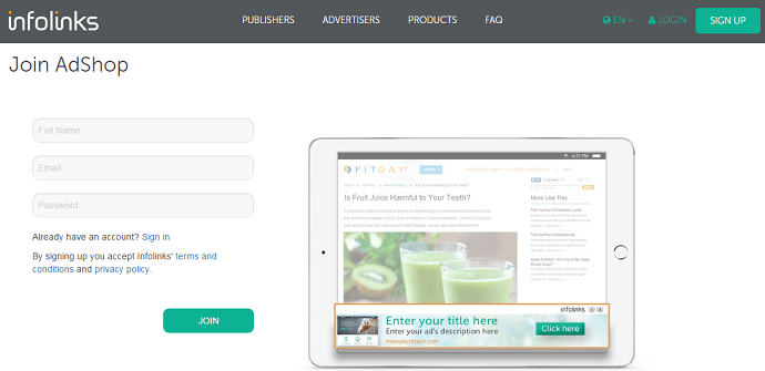 Infolinks Review – The Best Ad Network for Advertisers and